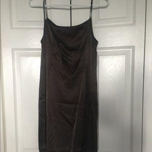 Gray Silk dress